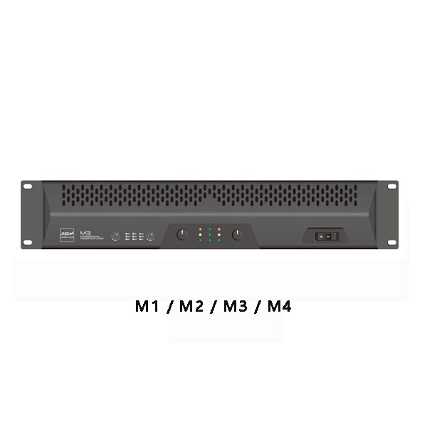 M 系列专业功率放大器 Model:M 系列专业功率放大器