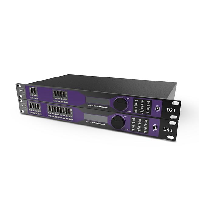 D48 Model:D48 四进八出数字音频动态处理器
